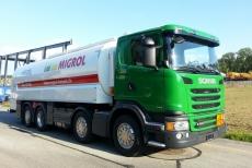 Helvetia Trans - Hägert Transporte, Scania G450, Willig Tankfahrzeug Tankaufbau