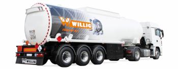 Tankauflieger - Tanksattelanhänger Willig